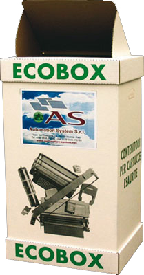 Smaltimento cartucce - Ecobox
